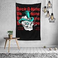 タペストリー Buck-O-Nine バック?オー?ナイン おしゃれ 布製壁掛け 部屋 寮 ホームステイ窓 壁 装飾用品 多機能 ブランケットカーテン ビーチタオル インテリア,(60x40inch/150x100cm)
