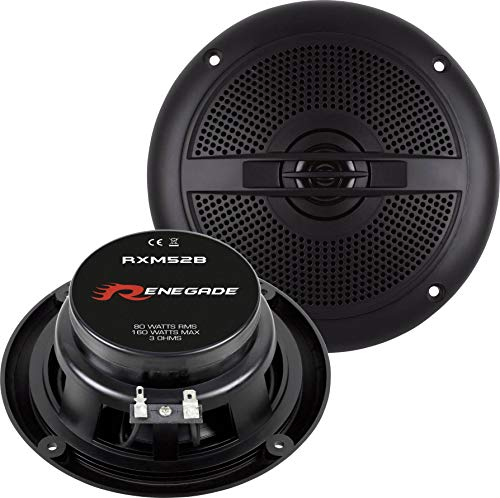 Renegade RXM52B Marine-Lautsprecher 160W Inhalt: 1 Paar