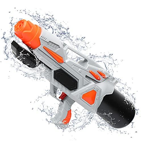 TINLEON Wasserpistole Sprüher Spielzeug 2200CC: Wasser Blaster Super Squirt 2200CC hohe Kapazität Geschenke, bis zu 36ft Lange Schießbereich für Kinder Erwachsene Jungen Mädchen