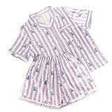 MIFIN Stampato Pigiama Due Pezzi Set Summer Pyjama Set (Koya, M)