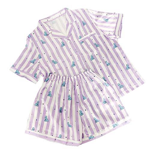 MIFIN Stampato Pigiama Due Pezzi Set Summer Pyjama Set (Koya, S)