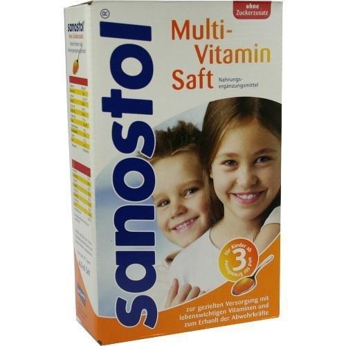 sanostol ohne Zuckerzusatz, 460 ml Saft