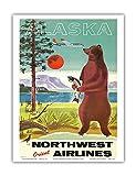 Alaska – Northwest Orient Airlines – Kodiak Alaskan