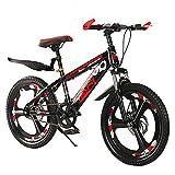 ZDZXC Bambini Bici Ragazzi Ragazze Freestyle Bicicletta Junior Bicicletta Giovanile 8-14 Anni Unisex Telaio in Acciaio al Carbonio Ad Alta Densità Design delle Gomme Antiscivolo Allargato