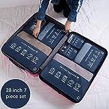 Bolsa De Viaje Plegable For el equipaje Air Travel casa for guardar la maleta del recorrido organizador del espacio de almacenamiento Guardar Bolsas Conjuntos Bolsa De Almacenamiento A Prueba De Agua