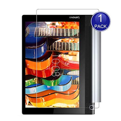 X-Dision HD Protector de Pantalla Compatible con Lenovo Yoga Tab 3 Plus 10.1, 0.26mm HD Proteger la Película, 9H Vidrio Templado Protectora, Anti-Scratch, más Protección y Fácil Instalación