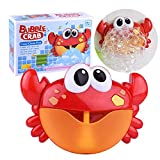 Kingtree Baby Bath Bubble Toy Bubble Crab Toys with 12 Pure Music, Automatic