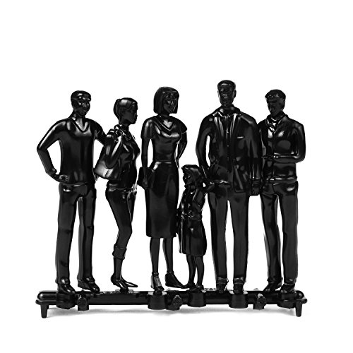 White Hermoli Model Figures Scale 1:200 Pack of 24 Type: Standing