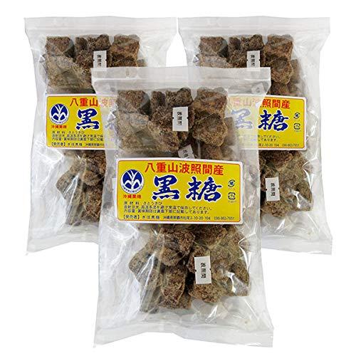 波照間産黒糖 3袋セット(小分け包装 100g×5)