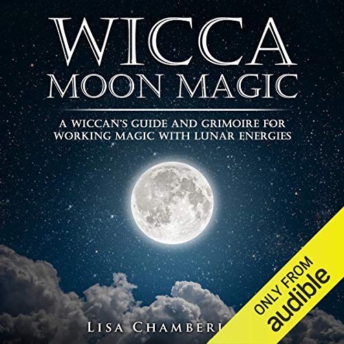 Wicca Moon Magic audiobook cover art