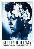 Billie Holiday von Reproduction Vintage Poster Kunstdruck