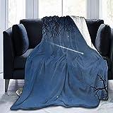 Elegante manta de franela con pestañas de color negro y oro rosa, ligera, súper suave, acogedora manta de cama de lujo, manta de invierno cálida para sofá, silla, decoración del hogar, 106 x 150 cm