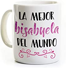 Best Bisabuela Coffee Mug - Spanish Best Great Grandmother Review
