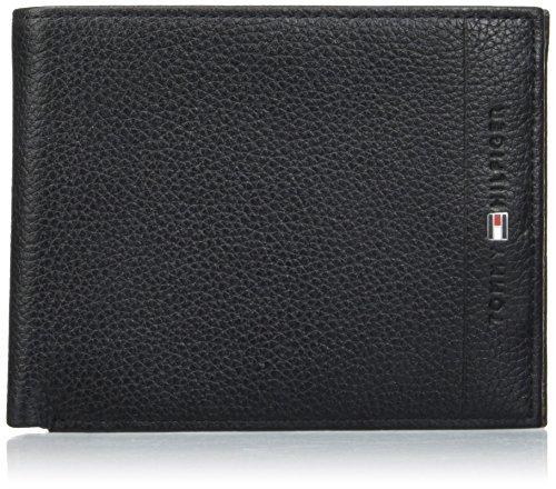 Tommy Hilfiger Core CC & Coin, Portafoglio Uomo, Nero (Black), 5x20x16 Centimeters (B x H x T)