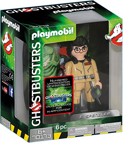 Playmobil Ghostbusters Edition Collector E. Spengler, 70173
