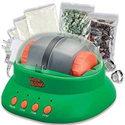 Best Rock Polishers Review - NatureBound Starter Rock Tumbler Kit for Kids