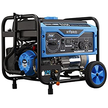 Pulsar PG5250B Dual Fuel Portable 5,250W  Generator with Switch and Go Technology