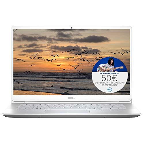 bon comparatif Ordinateur portable Dell Inspiron 14 5490 14 pouces avec lecteur d'empreintes digitales Full HD argenté… un avis de 2021