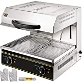 VBENLEM Salamander Broiler Liftable Burner Salamander Oven Countertop Salamander Broiler 4000W Electric Cheese...