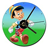MasTazas Pinocho Pinocchio Reloj CD Clock 12cm