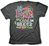 Cherished Girl Adult Women's T-Shirt Big Faith -...