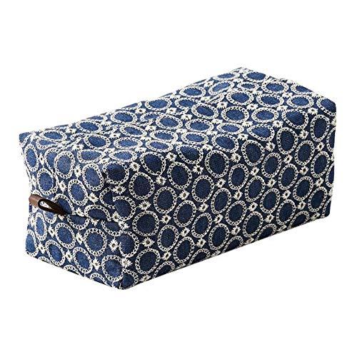 Wdonddonzjh Tenedor de caja de tejido Caja de toalla de papel Caja de algodón Ropa de cama Art Comedor Sala de estar Caja de bombeo Caja de bombeo Art Paper Toalla Bolsa de almacenamiento Creativo Hog