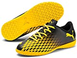 Puma Spirit III IT Jr, Zapatillas de fútbol Sala, Black-Ultra Yellow, 37 EU
