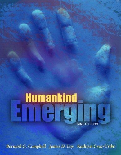 Humankind Emerging (9th Edition)