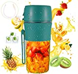 Portable Blender10oz (280ml ) For Shakes And Smoothies With Reusable Straw Mini Blender,Safety USB Rechargeable Personal Blender Cup Handheld Small Blender For Office,Sports ,School ,Travel, Gym Outdoor Actitvities