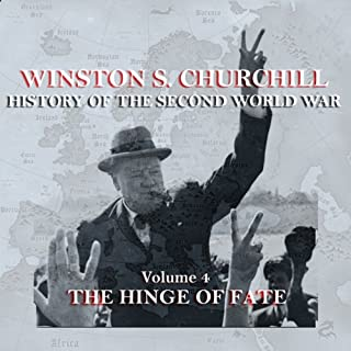 Winston S. Churchill: The History of the Second World War, Volume 4 - The Hinge of Fate audiobook cover art