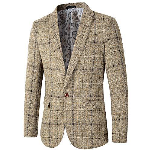 Top 10 Best Men Sport Jacket Blazer Regular Comparison