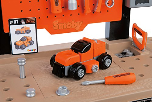 Smoby 360701 – Black + Decker Werkbank Center - 4
