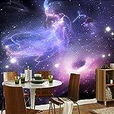 Papel tapiz mural 3D personalizado de cualquier tamaño para paredes de dormitorio moderno universo abstracto estrellas galaxia sala de estar papel tapiz de techo 3D