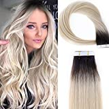 Best Tape In Hair Extensions - Lacerhair Tape in Human Hair Extensions Natural Hair Review