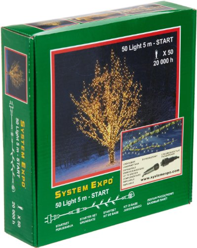 System Expo 484-01 Startlights 50-teilig 500 cm, weiß