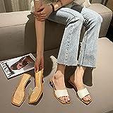 MLLM Zapatillas Antideslizantes para Mujeres,Cristal de Mujer con...