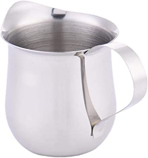 D Milk Frothing Pitcher Taza de Leche de Acero Inoxidable Taza en Forma de