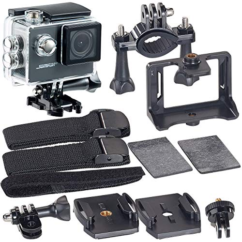 Somikon HD 720p Action Camera: HD-Action-Cam DV-1212 mit 720p-Auflösung, Unterwasser-Gehäuse, IP68 (Action Kamera HD 720p)