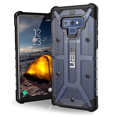 Urban Armor Gear Plasma Hülle für Samsung Galaxy Note 10 Plus Handyhülle nach US-Militärstandard (Kompatibel mit der 5G Version,Qi kompatibel, Sturzfest, Vergrößerte Tasten) - transparent