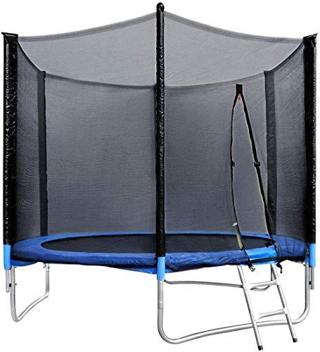 Kids Trampoline met Spring Mat Antislip Duurzaam Indoor Outdoor Trampoline Maximale veiligheidsbelasting 350 kg voor de zomer Outdoor Waterspel Speelgoed 305X180cm (upgrade)