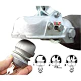 BRAND NEW UNIVERSAL HITCHLOCK CARAVAN TRAILER HITCH COUPLING TOW BALL LOCK SECURITY HIGH