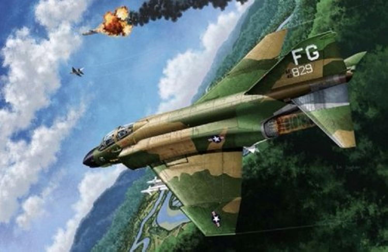 1 48 USAF F-4C Guerra del Vietnam (japan import)