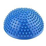 VGEBY - Pelota de masaje para pies, antideslizante, media pelota, esterilla de masaje, ejercicio, equilibrio, punta, para gimnasio, yoga, pilates, azul