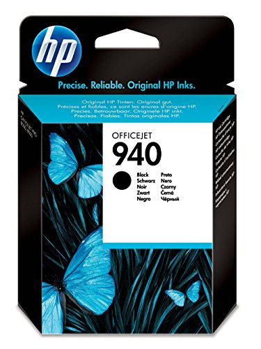 HP 940 (C4902AE) Schwarz Original Druckerpatrone für HP Officejet Pro 8500, HP Officejet Pro 8500A, HP Officejet Pro 8000