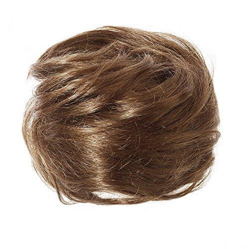 American Dream Chignon 100% Cheveux Humains 5B Safari Taille Mini