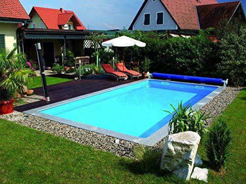 KWAD Pool Set Styroporbecken Schwimmbecken Rechteckig 5m x 3m x 1,5m