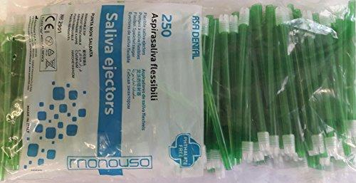 Aspirasaliva flessibile confezioni da 250 pezzi