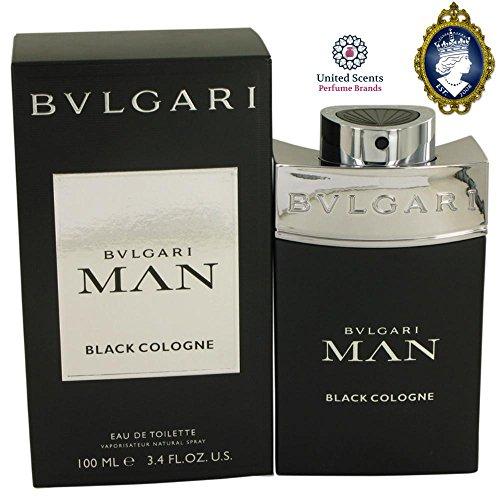 Bvlgari Man Black Cologne 100ml/3.4oz Eau De Toilette Spray Fragrance for Men