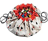 Play&Go Play&Go_5425038799828 Play & Go Disney X Storage Bag Mickey Cool, Diameter-140 cm, Multi Colour, One Size