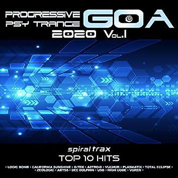 Progressive Goa Trance 2020 Top 20 Hits Spiral Trax, Vol. 1